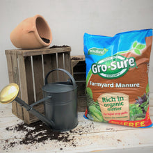 Offer: 3 X Gro-Sure Farmyard Manure 50L bags for £11.98