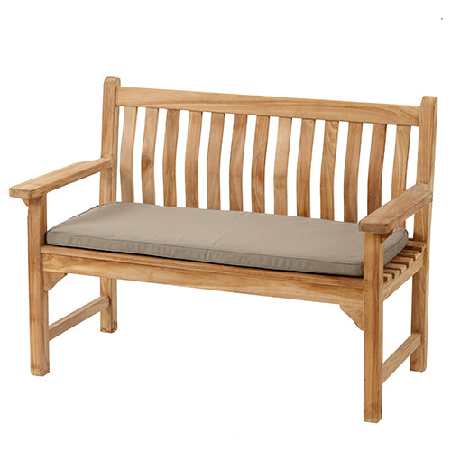 Bramblecrest Curved Back 2 Seat Bench with Cushion