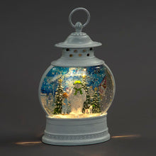 Battery Operated Snowman Snowglobe 28cm