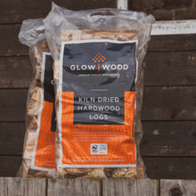3 Bags of Kiln Dried Birch Hardwood Logs