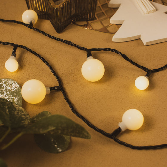 240 Warm White Cherry Lights - Indoor & Outdoor