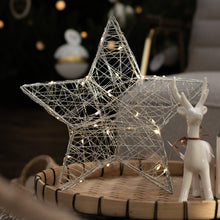 Battery Operated Micro Wire Star - 30 Lights