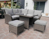 Leisuregrow Monaco Casual Dining Modular Set