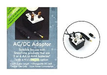 Mains adaptor for snowman battery water spinner