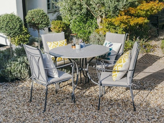 Leisuregrow Alexandria Dining 4 Seat Set