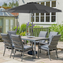 Leisuregrow Milano 6 Seat Dining Set **PRE-ORDER**