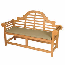 Bramblecrest Lutyens Bench with Cushion