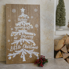 Battery Operated Mdf Tree Frame - Warm White