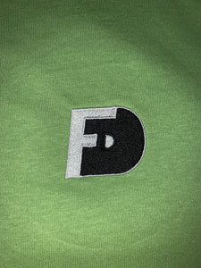 FD Black and White Logo T-Shirt