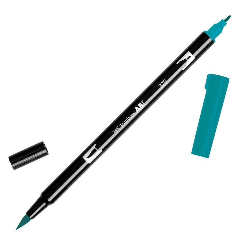 Tombow Plumón Doble Punta Jade Green