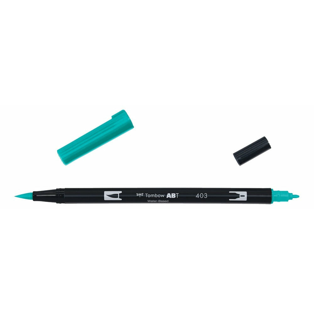 Tombow Plumón Doble Punta Bright Blue