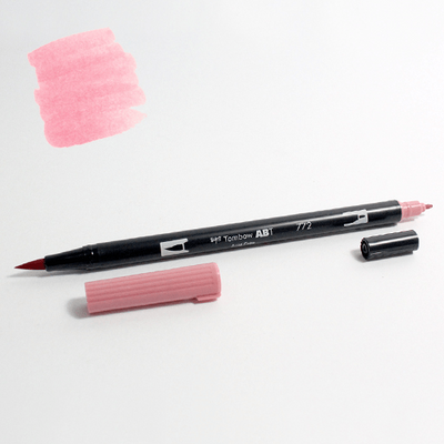 Tombow Plumón Doble Punta Blush