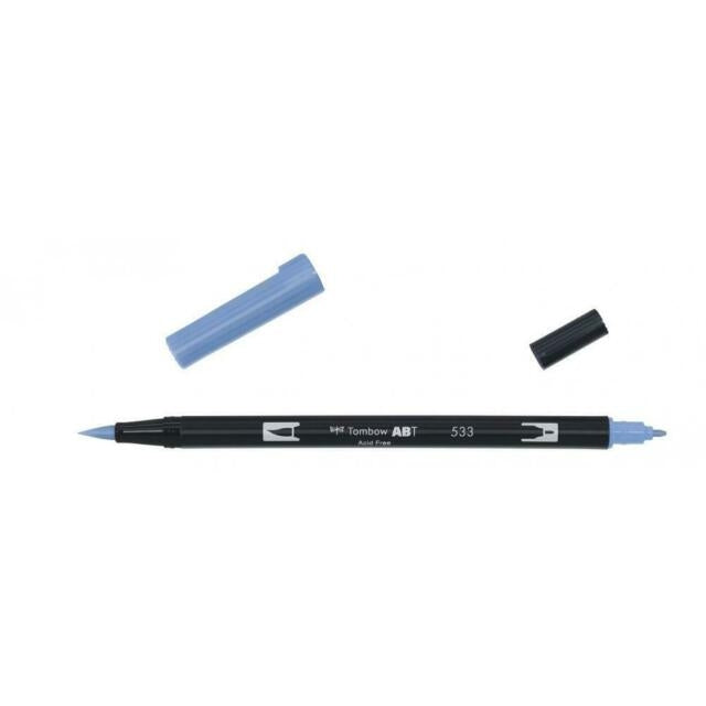 Tombow Plumón Doble Punta Peacock Blue