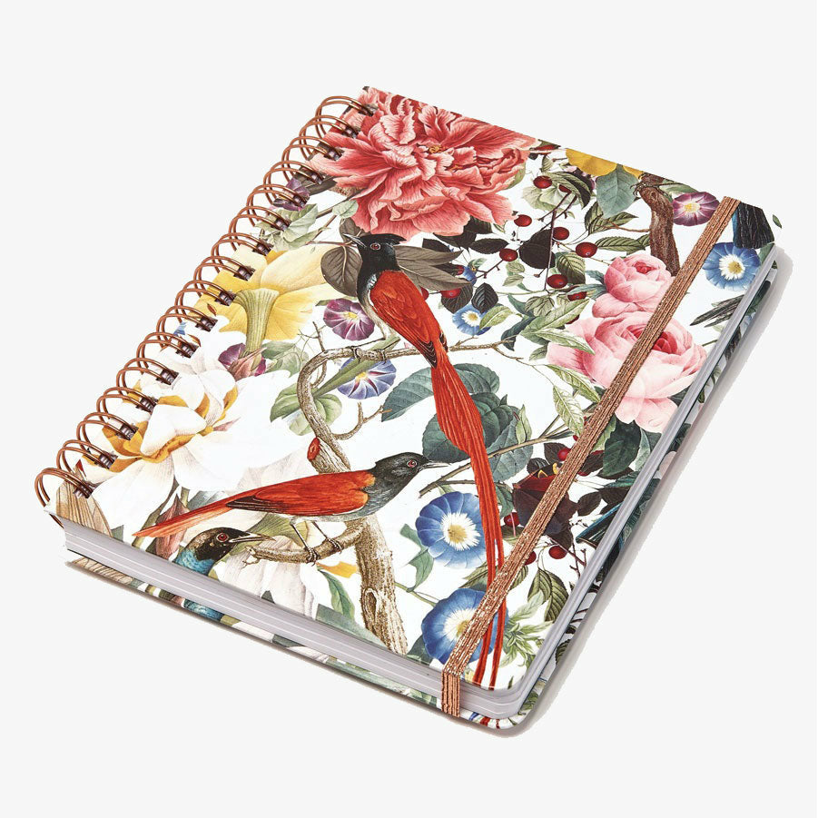 Cuaderno Punteado - Red Birdies