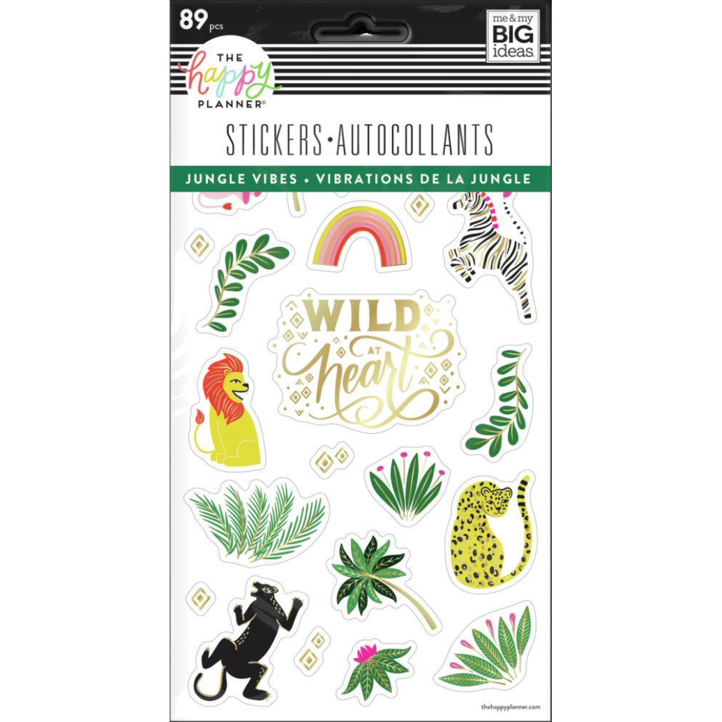 Set Stickers Happy Planner - Jungle Vibes