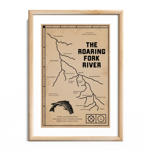 Load image into Gallery viewer, Roaring Fork River Print