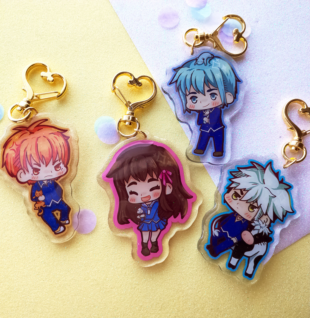 Fruits basket Charms