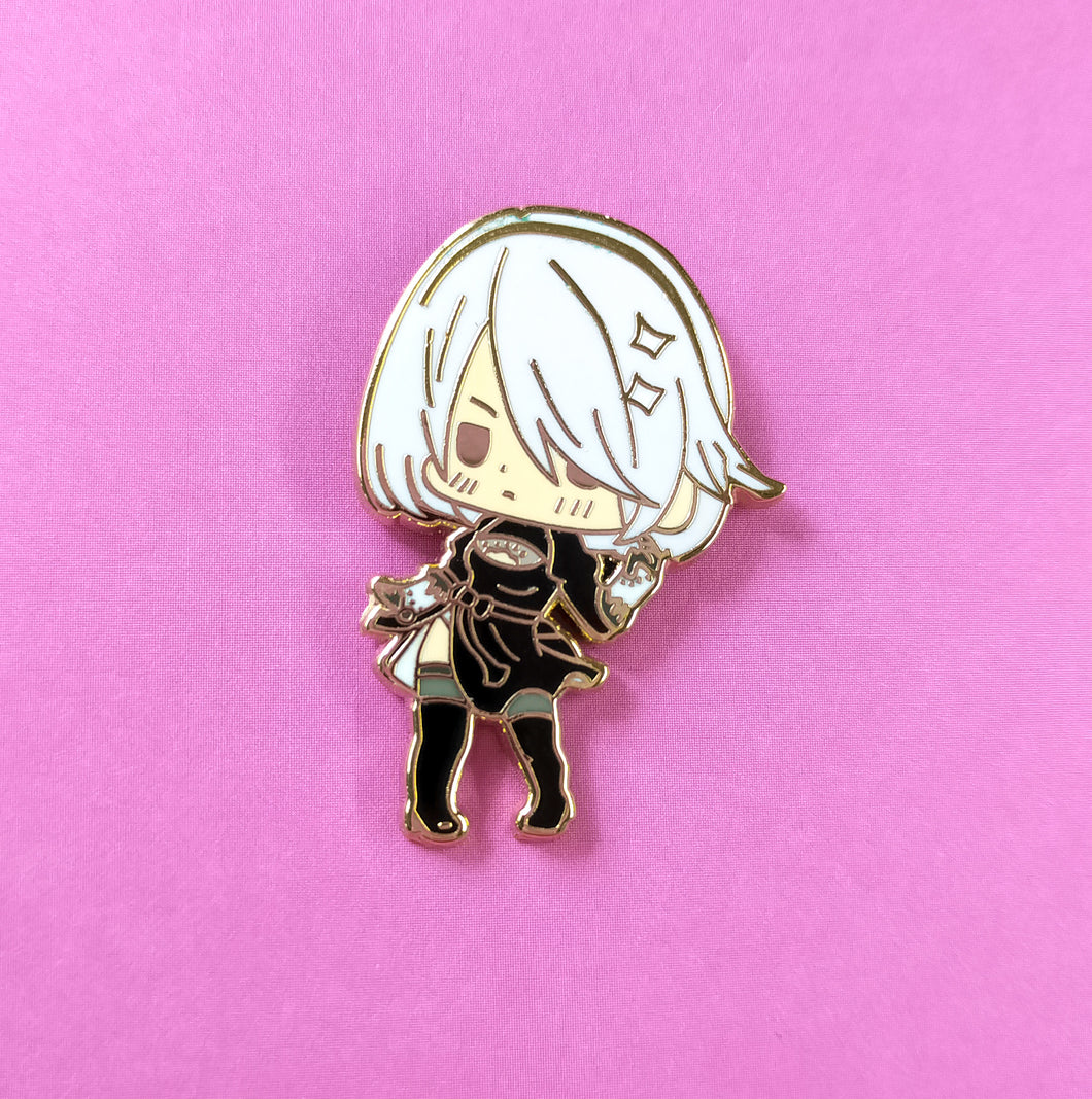 2b android Enamel pin