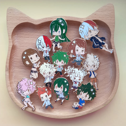 *seconds sale* Hero academia pins