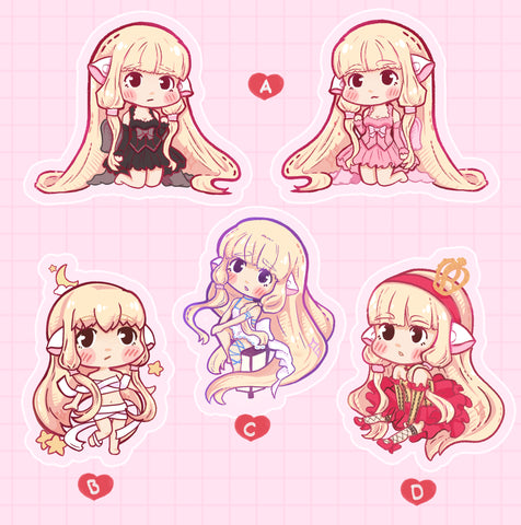 Chobits chii Charms