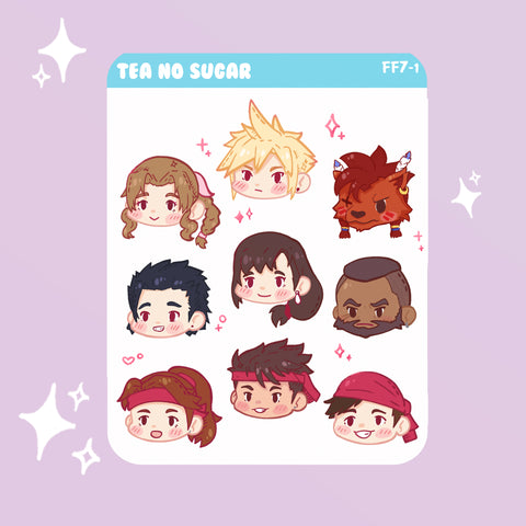 FF7R Avalanche stickers