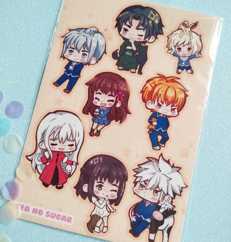 Fruits basket sticker sheet