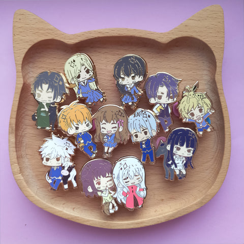 *seconds sale* Fruits basket pins