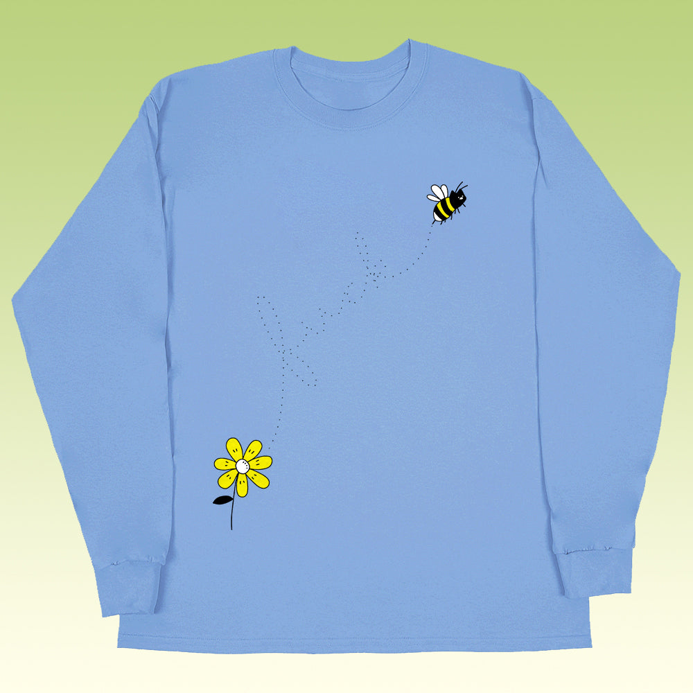 bumble longsleeve blue