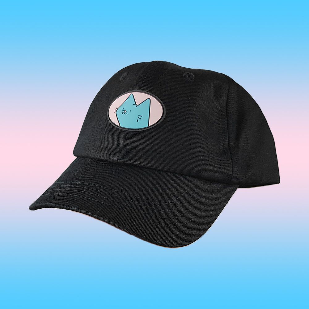oval cat cap