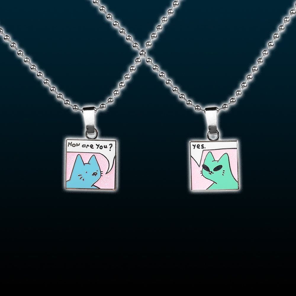 how r u pendant set