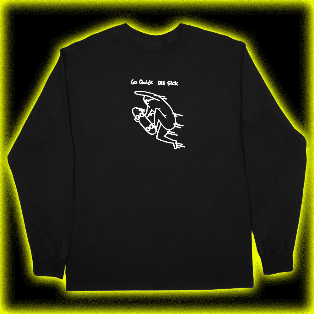 quick longsleeve black