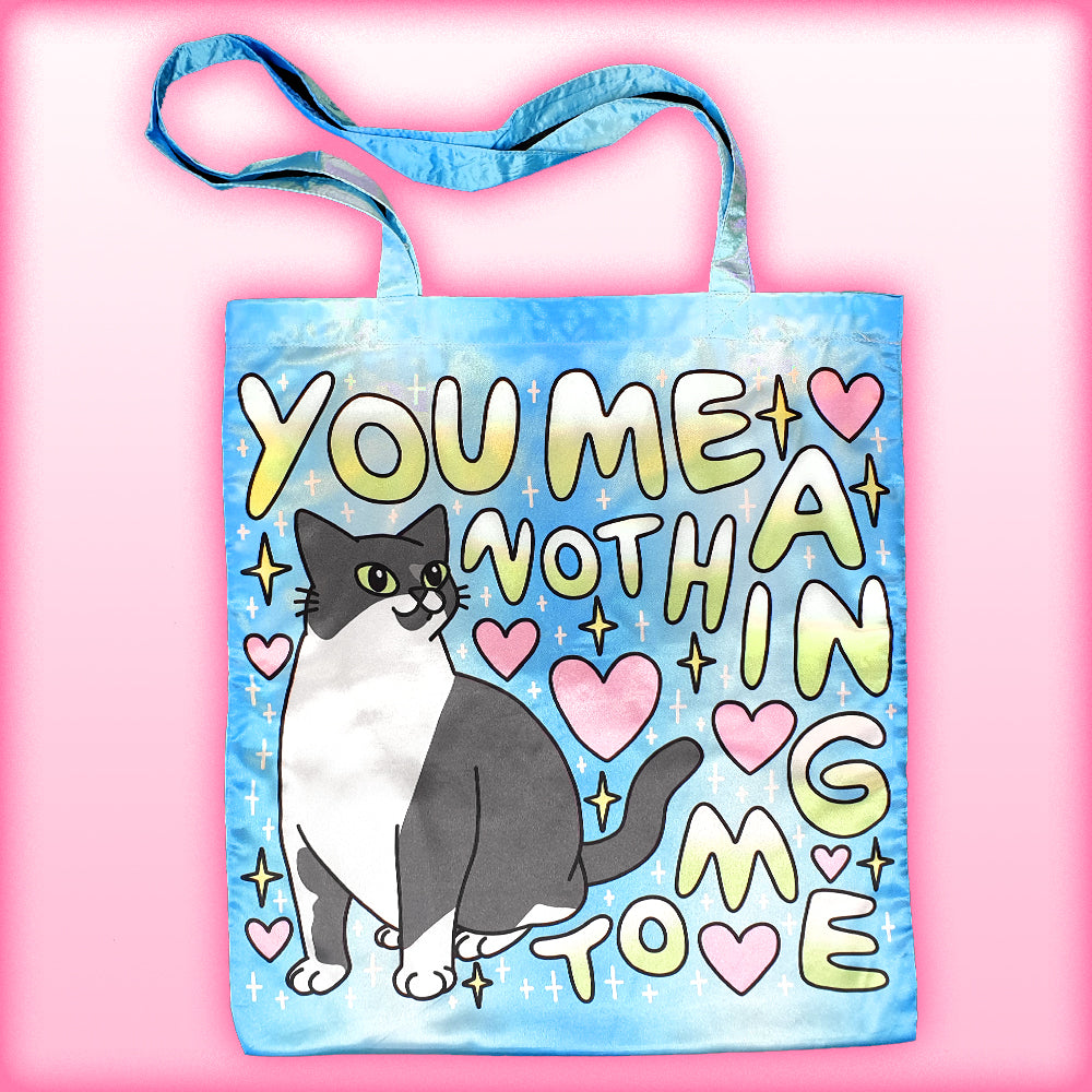 what you mean to me totebag