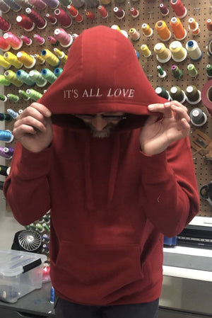 """It's All Love"" Hoodie"