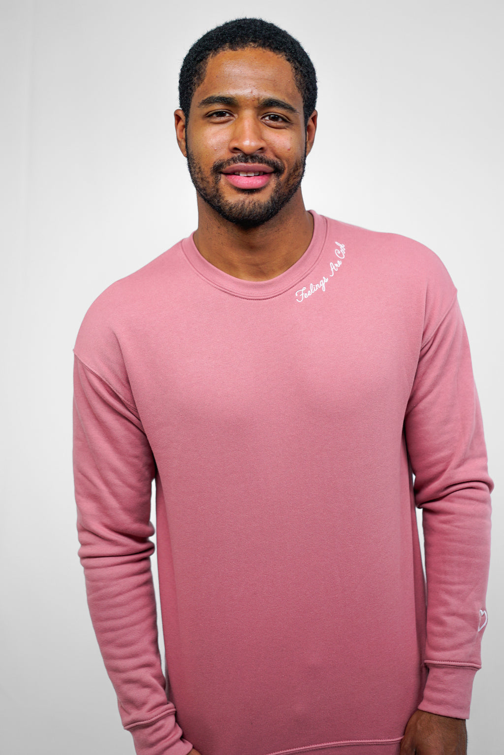 Feelings Are Cool Crewneck - Mauve