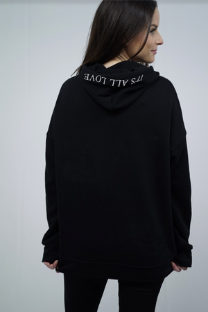"""It's All Love"" Hoodie - Black"