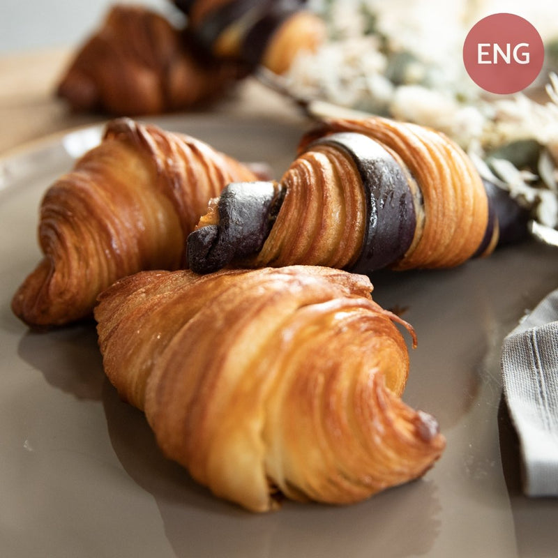 Video-Tutorial | Croissant (ENG) with Jo T. | Incl. Recipe - BakeNight