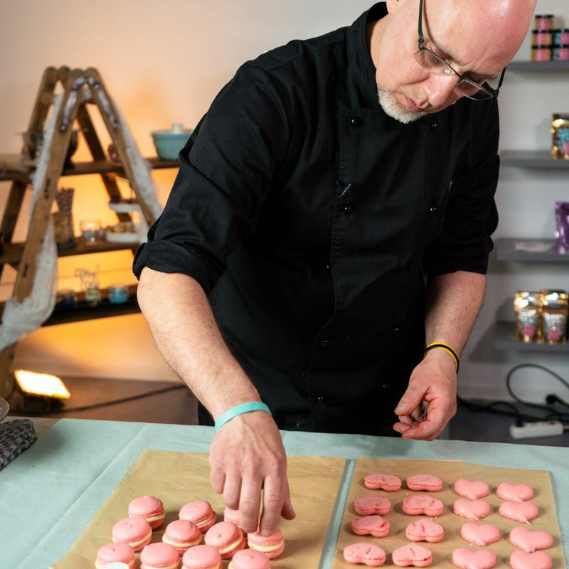 Video-Tutorial | Macarons backen mit Ronald L. | Inkl. Rezept - BakeNight