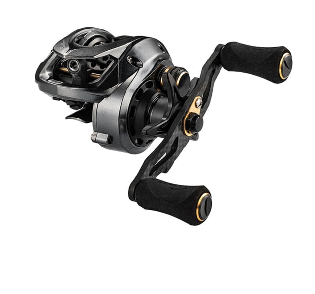 Fishband GH100 Reel Micro-material Water 7.2:1 Wheel Carbon Ultra-light Throwing Dynamic Magnetic Brake Anti-explosion Line Reel - fishingtools-co