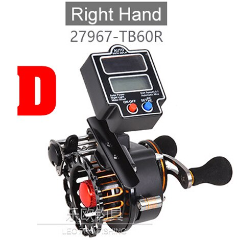 YLEO Fishing Reel With Line Counter 16 1 Bearings Baitcaster solar   Digital Display Fishing - fishingtools-co