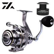 High Quality 14+1 BB Double Spool Fishing Reel 5.5:1 Gear Ratio High Speed Spinning Reel Carp Fishing Reels For Saltwater - fishingtools-co