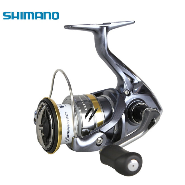 HOT SHIMANO ULTEGRA Original 1000 2500 C3000 4000 Low Speed Gear Ratio HAGANE GEAR Spinning Fishing Reel - fishingtools-co