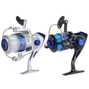 YF1000-10000 Spinning Fishing Reel With Fishing Line 5.5:1 5.2:1 4.1:1 12BB resh/Salt Water Sea Fishing Wheel Lightweight Fishin - fishingtools-co