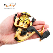 Fishing reels small reel front drag spinning reels 3BB 5.2:1 feeder coil fishing tackle HY-X01 - fishingtools-co
