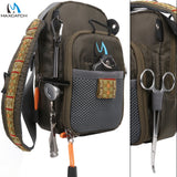Maximumcatch Fly Fishing Bag Fishing Chest Pack Fishing Backpack With Fishing Tool Accessory - fishingtools-co