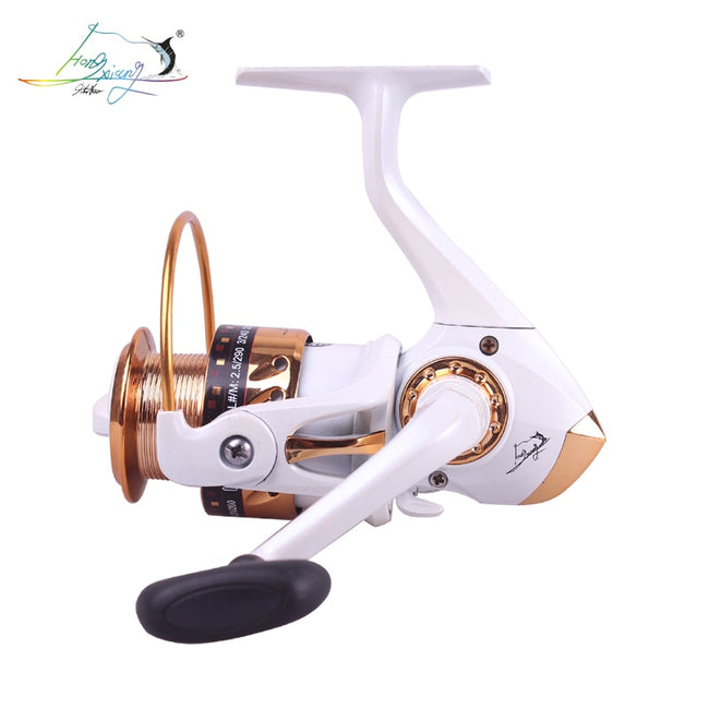 NoEnName 3000-6000 5BB 5.2:1 Metal Spinning Fishing Reel Fly Wheel For Fresh/Salt Water Sea Fishing Spinning Reel Carp Fishing - fishingtools-co