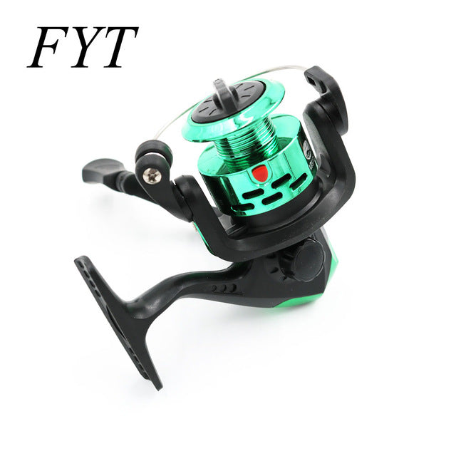 New Product Small Fishing Reel 3BB Series Spinning Reel For Feeder Fishing Wood Handle Fishing Reels Pesca CK200 - fishingtools-co