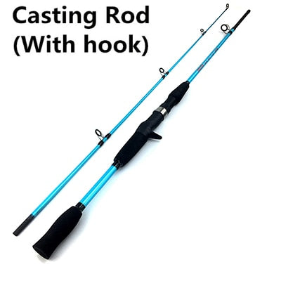 GHOTDA 1.5M 1.8M M Power Lure Rod Casting Spinning Wt 3g-21g Ultra Light Boat Lure Fishing Rod - fishingtools-co