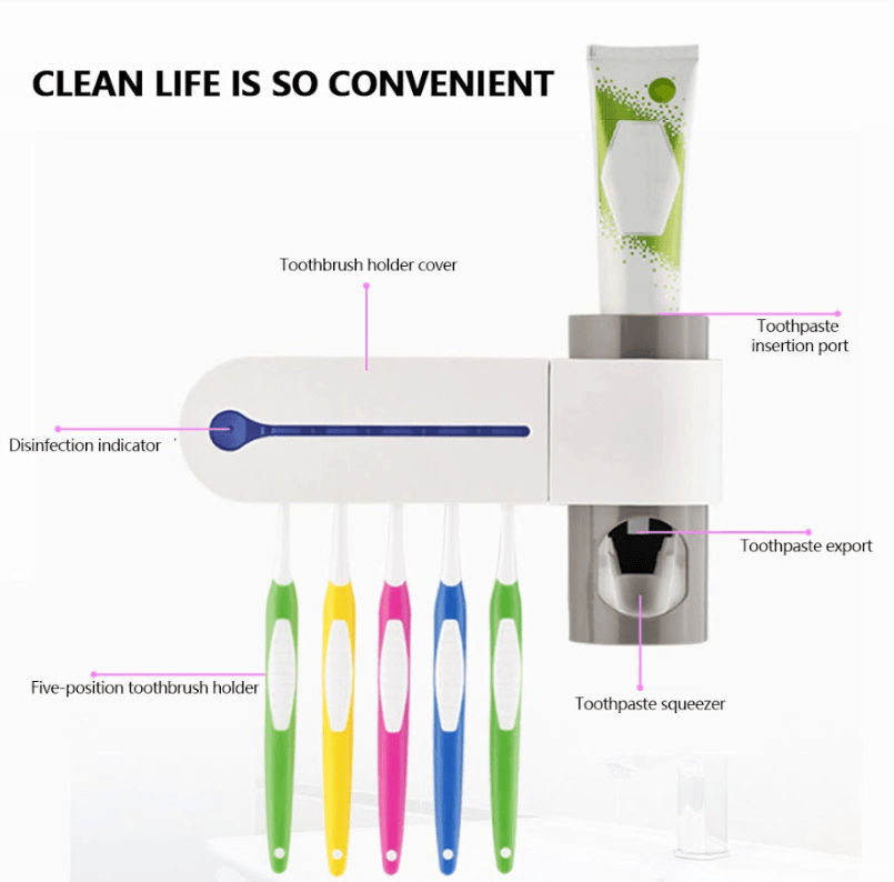 GVTECK - Multifunctional Ultraviolet Toothbrush