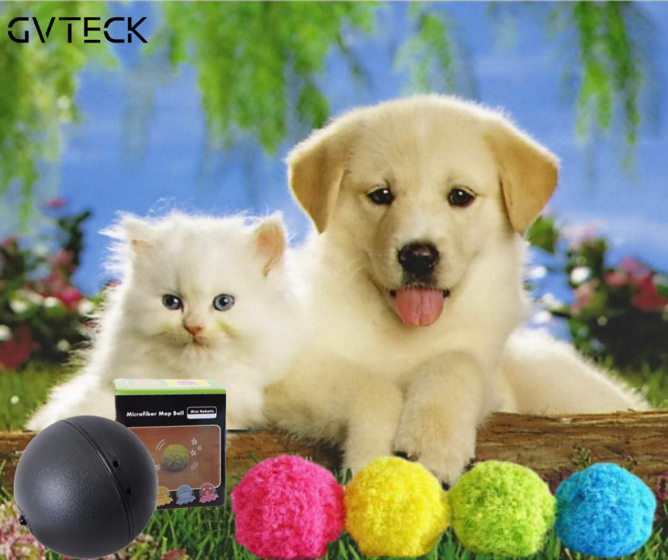 PETBALL™ - MAGIC BALL FOR DOGS AND CATS (INCLUDES 4 COVERS!)