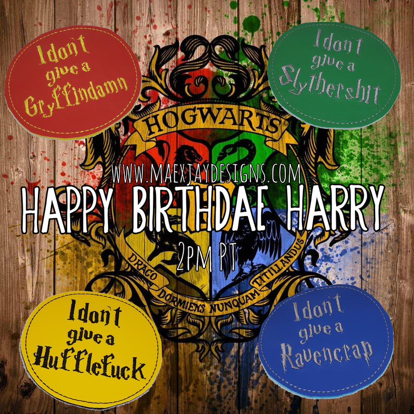 Happy Birthdae Harry Coasters